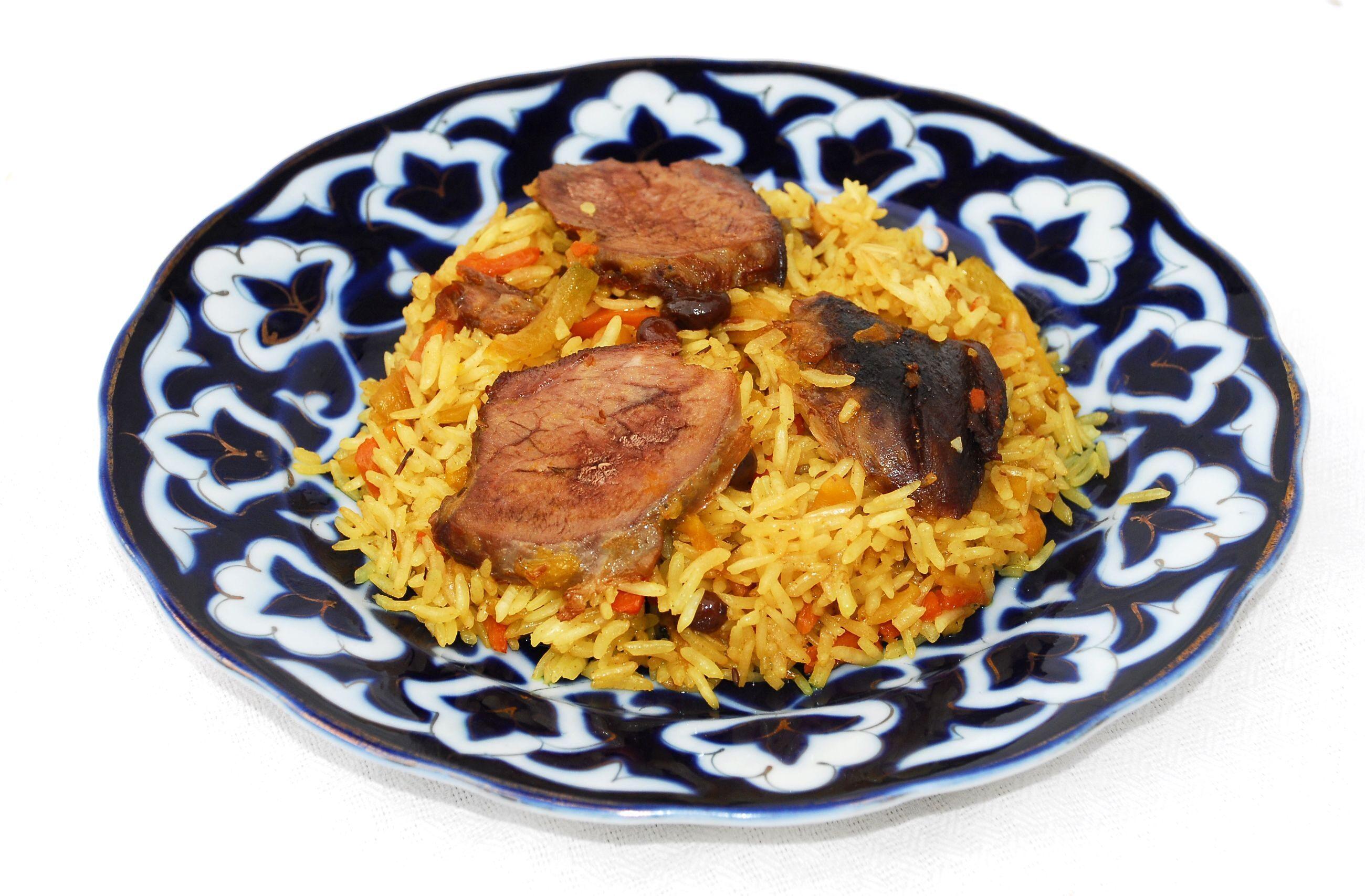 Плов праздничный узбекский рецепт пошагово в